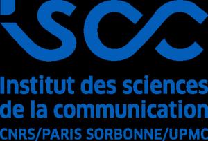 Logo en pavé bleu